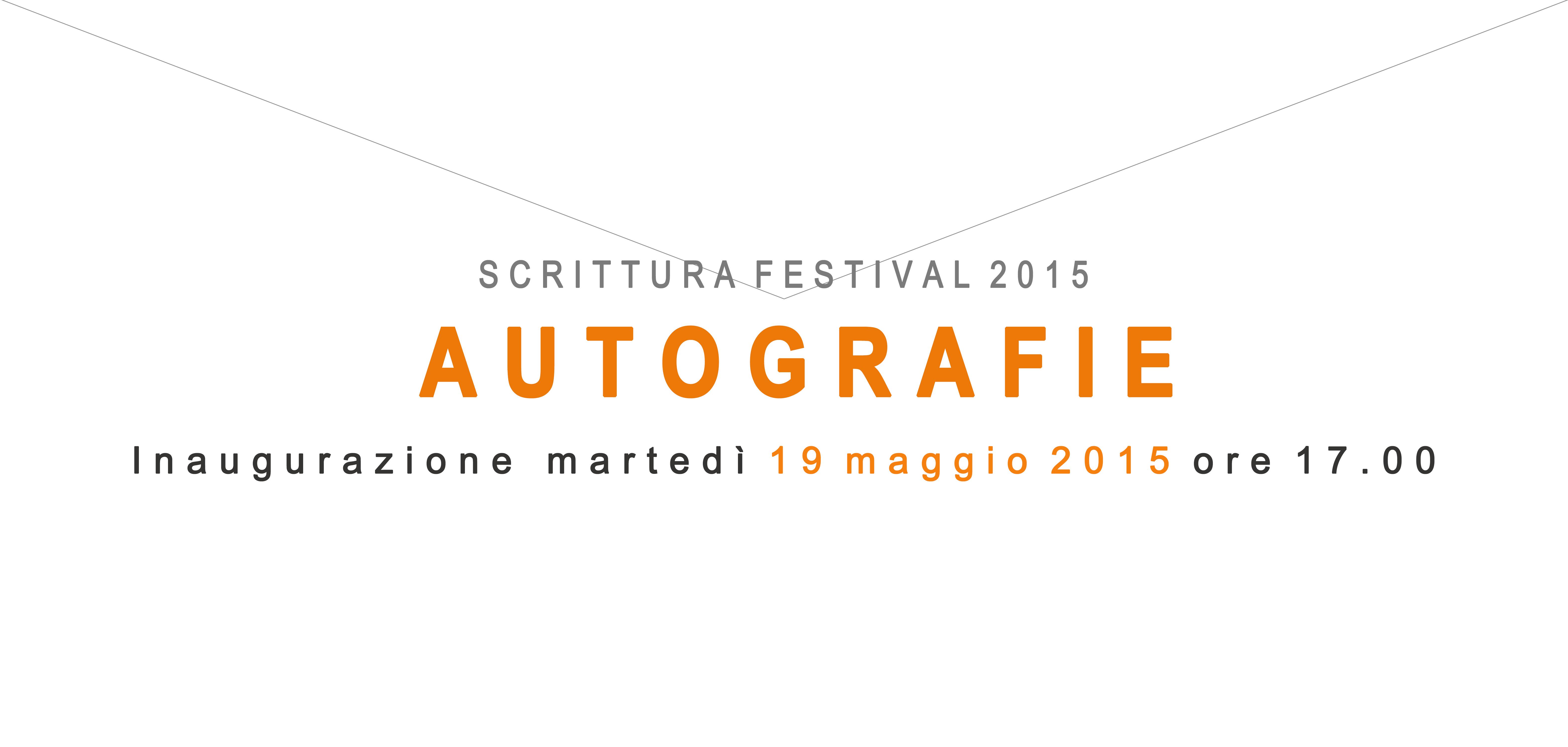 AUTOGRAFIE  a Ravenna 19 maggio-2 giugno2015