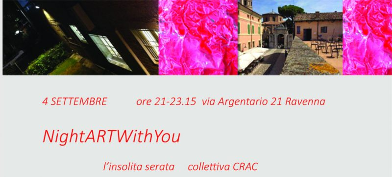 "NightARTWithYou e ""di transiti"""