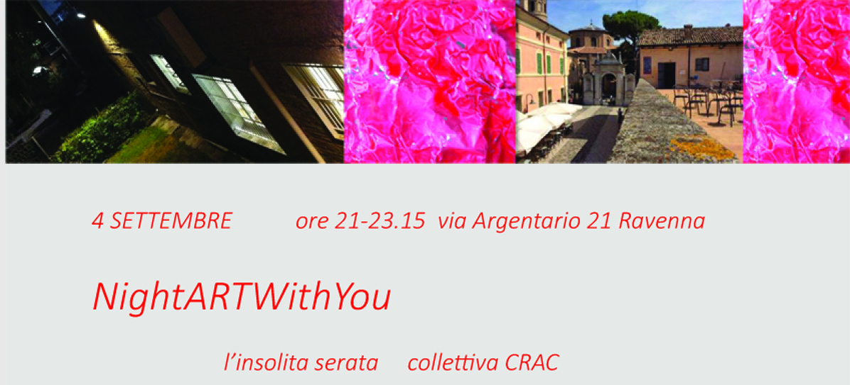"""NightARTWithYou""  4 settembre 2015"