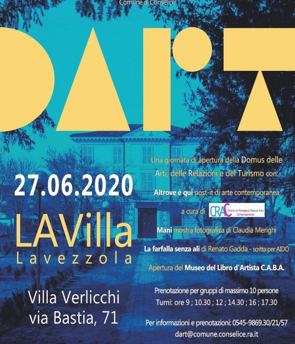 DART – LA Villa – 27.06 e 4.7.2020