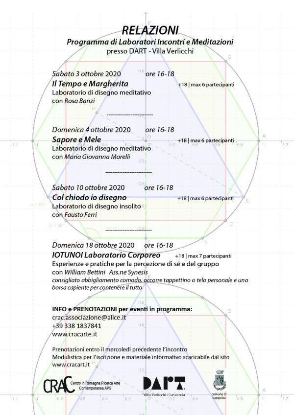 CRAC laboratori e workshop 2020/22