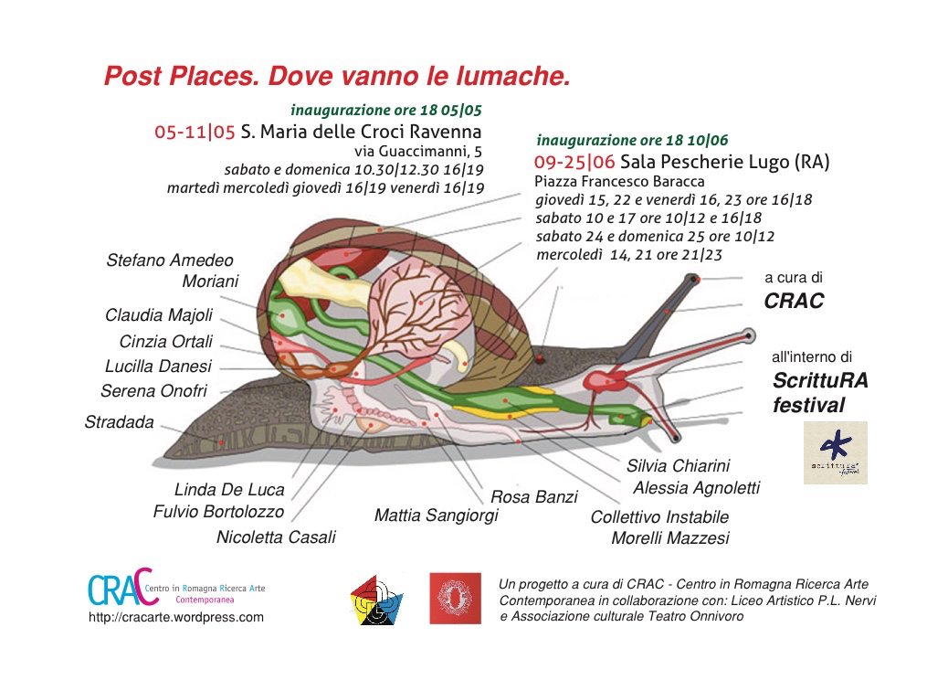 Post Places. Dove vanno le lumache.